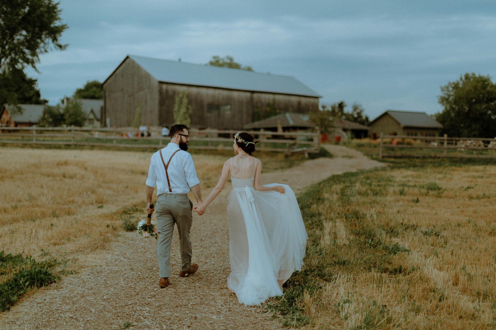 Romantic South Pond Farms Rustic Barn Wedding