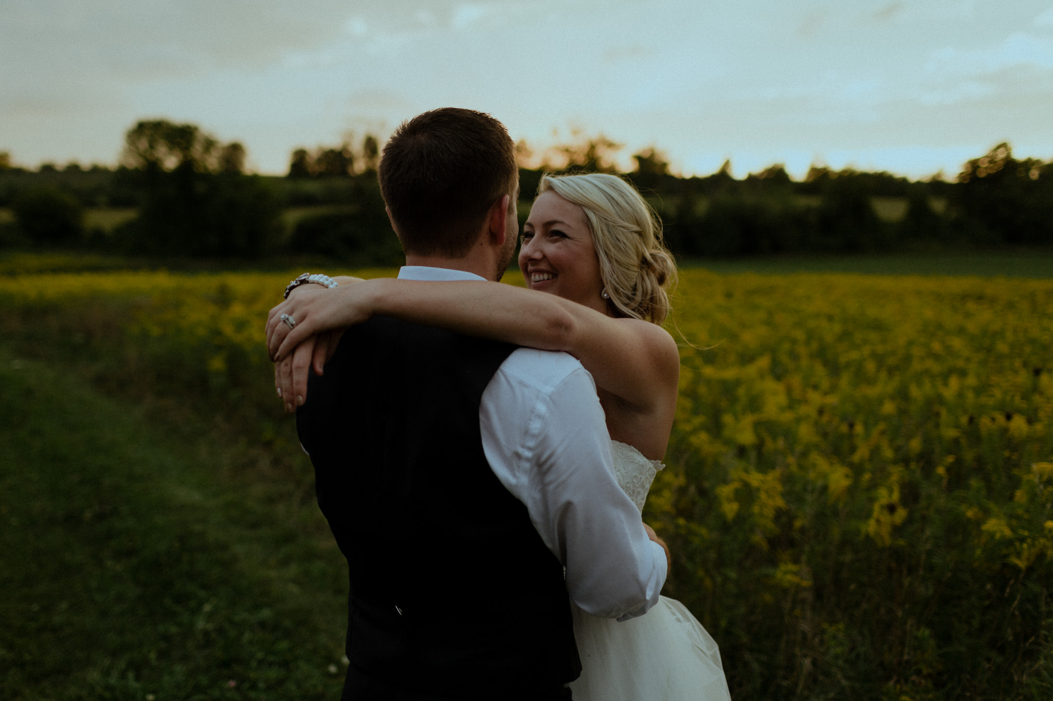 Outdoor Wedding portraits at Century Barn