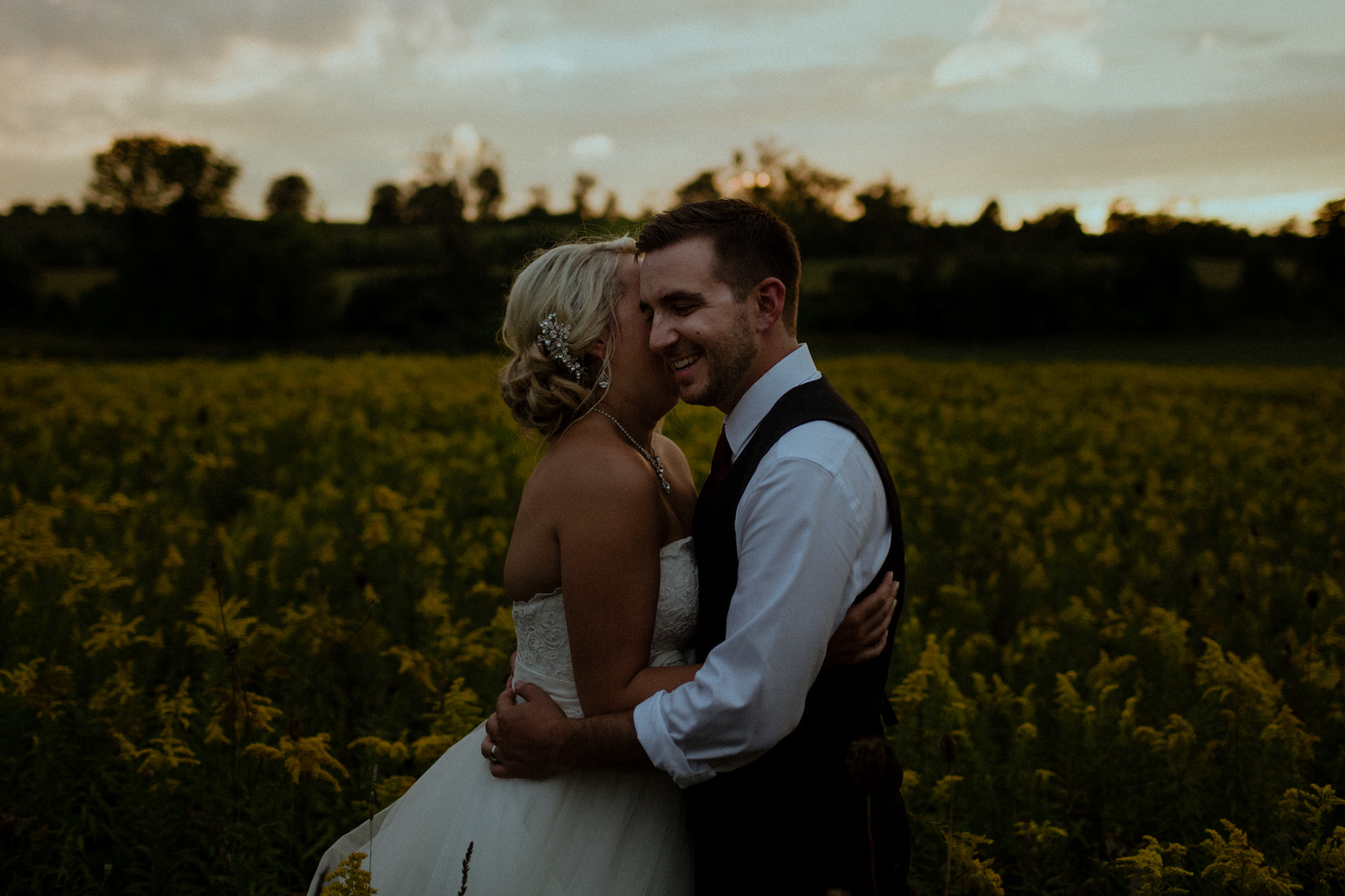 sunset portraits century barn wedding venue toronto cavan peterborough lakefield photographer